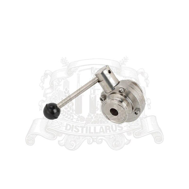 Butterfly valve 2 51mm OD 64mm