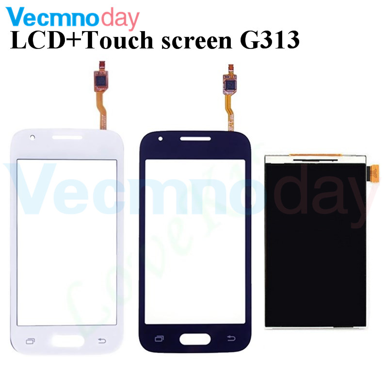 Vecmnoday Original For Samsung Galaxy Ace 4 LTE G313 G313F G131H LCD Display+Touch Screen Digitizer Sensor Replacement Parts