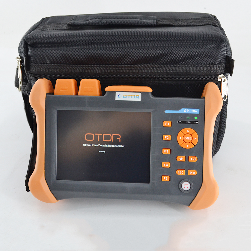 TMO-300-SM-A 28/26dB 1310/1550nm SM OTDR Tester Embutido 10 mW VFL Fibra Óptica Teste