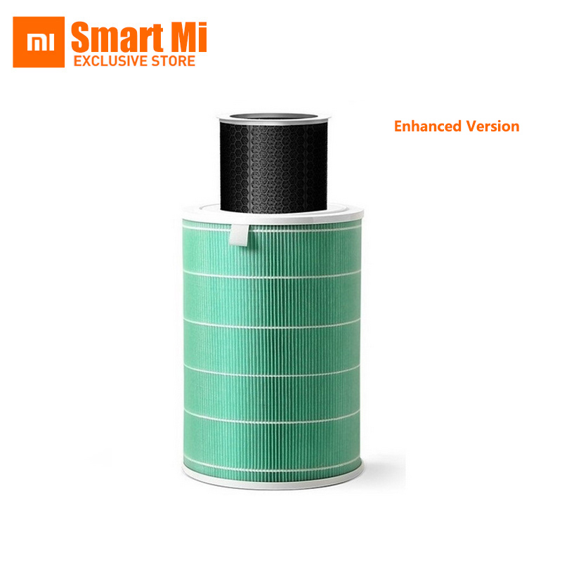 Xiaomi Air Purifier 2 Filter Air Cleaner Intelligent Mi Air Purifier Core Removing HCHO Formaldehyde Green Enhanced Version xiaomi mi smart air purifier 2nd gen hepa home air cleaner app control
