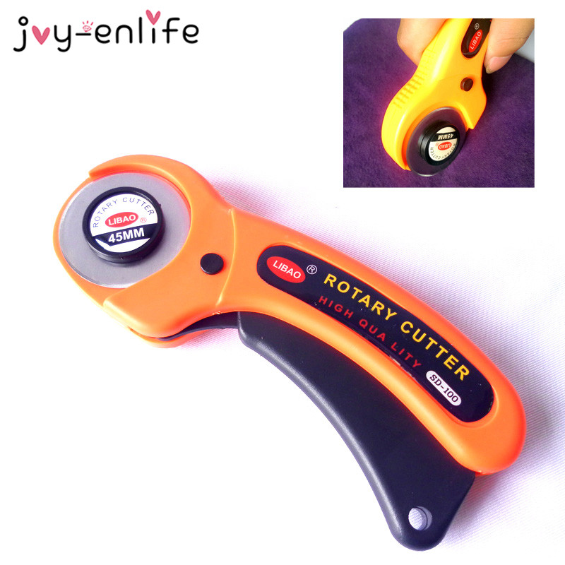 Joy Enlife 1pcs Tailor Tools Round Cloth Cutting Knife