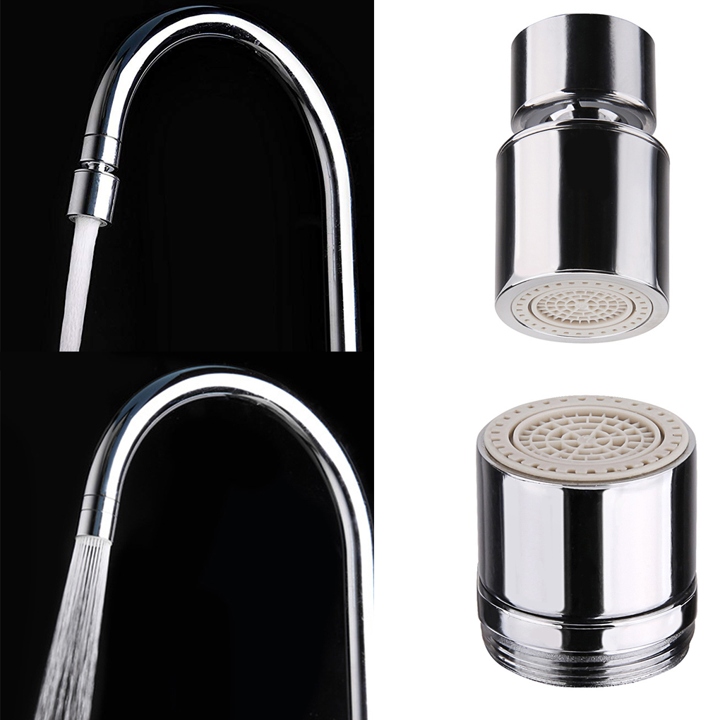 Copper Faucet Certified Dual Function 2 Flow Kitchen Sink Aerator 360-Degree Swivel Faucet Sprayer Spout Fitting Faucet Bubbler