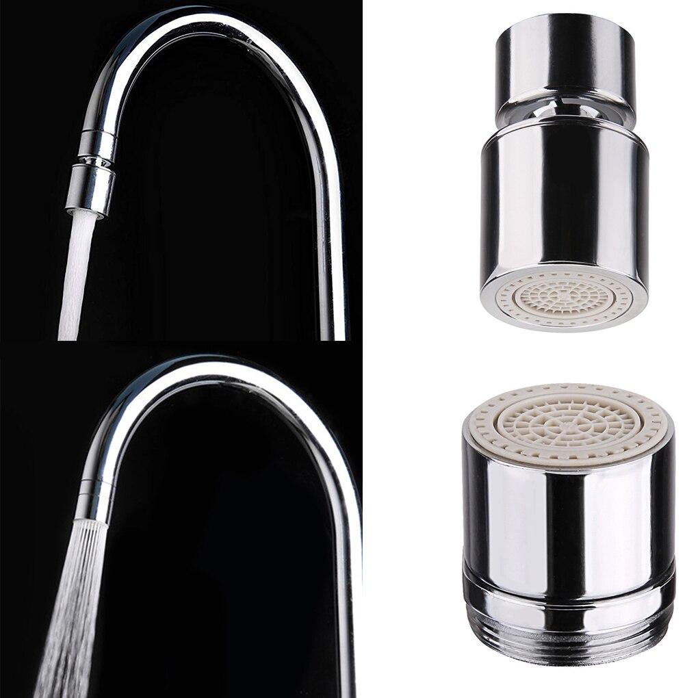 Copper Faucet Certified Dual Function 2 Flow Kitchen Sink Aerator 360-Degree Swivel Faucet Sprayer Spout Fitting Faucet Bubbler