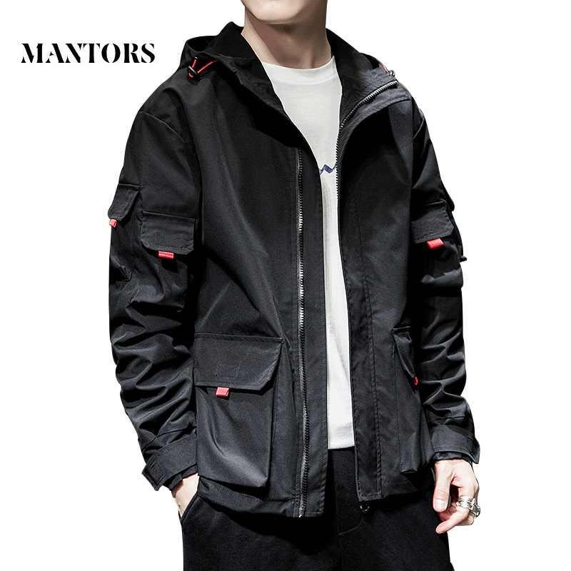 2019 новая мужская куртка весна осень Повседневная однотонная куртка-бомбер на молнии уличная куртка бейсбольная мужская Тонкая куртка с капюшоном