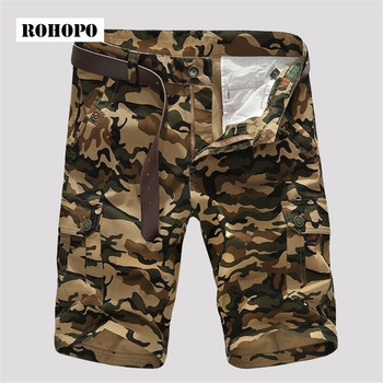 AFS JEEP 4XL to M Summer Man's Camouflage Printed Military Style Cotton made brand Shorts khaki army green new style brand short