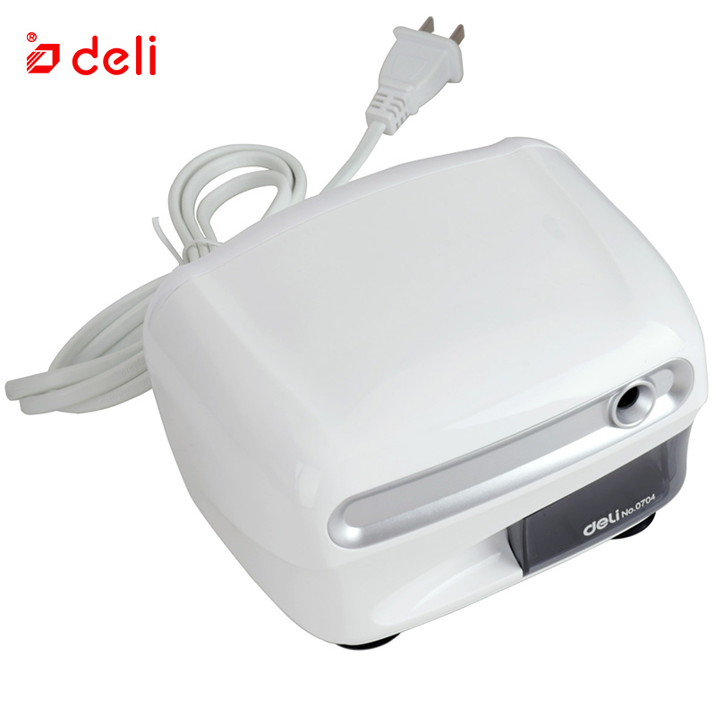 Deli Electric Pencil Sharpener School Stationery Automatic Sharpener Creative For Students Office Supplies Pencil Sharpener 2018 original jkr 218b bluetooth headphones with microphone wireless headset bluetooth for iphone samsung xiaomi headphone