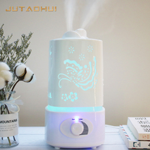 JTH-018 1500ml Ultrasonic Air Humidifier for Home Essential Oil Diffuser Humidificador Mist Maker 7Color LED Aroma Aromatherapy