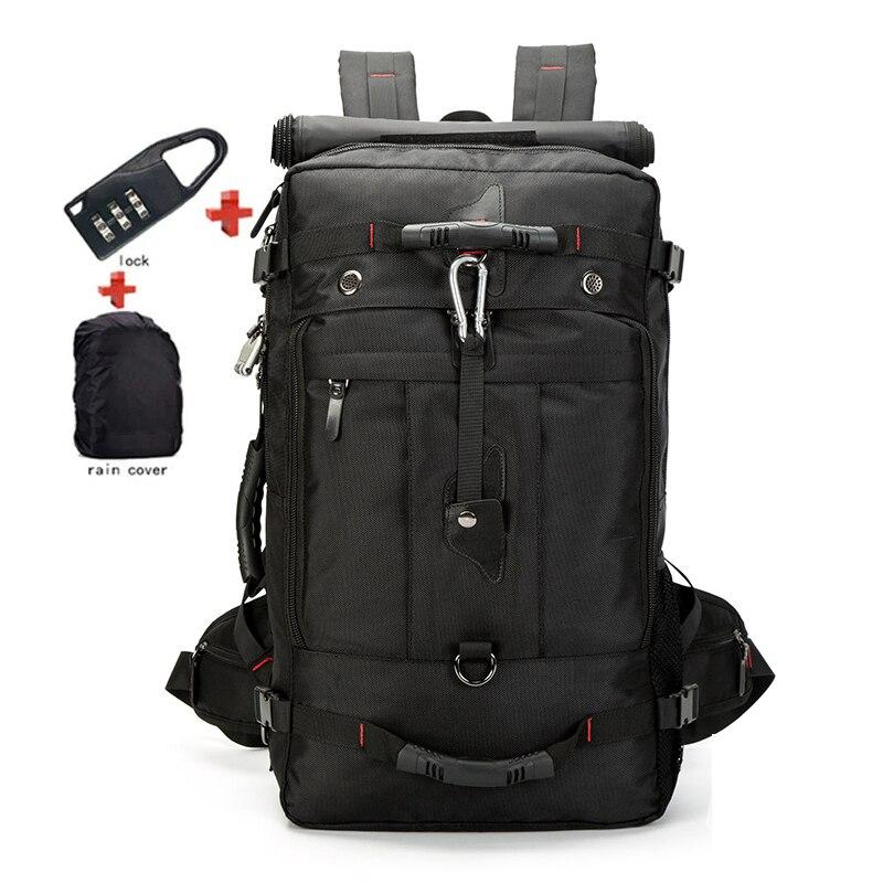 SIXRAYS 20 inch Men Backpack Travel Bag Large Capacity Versatile Utility Mountaineering Multifunctional Waterproof Backpacks