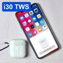 I30 TWS всплывающие 1:1 размер копия беспроводной Bluetooth 5,0 наушники 6D супер бас раздельное использование Pk W1 чип i60 i20 i12 i10 TWS