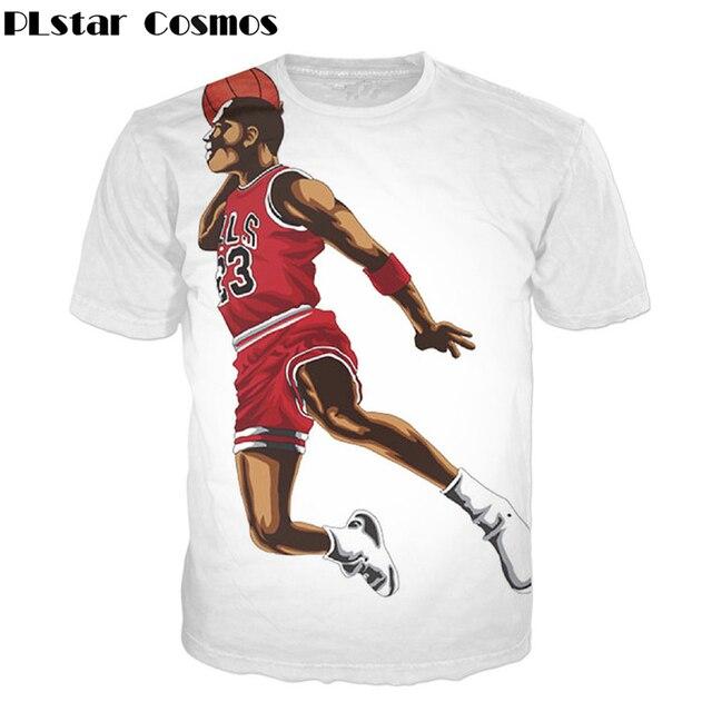 new arrival ee5fe 4566a PLstar Cosmos Free shipping! 2018 Newest Jordan 3d t shirt Men Women Casual t  shirt summer style Hip hop tops plus size S-5XL