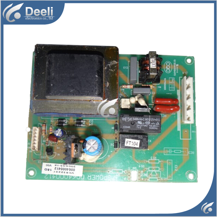 95% new Original good working refrigerator pc board motherboard for Haier 0064000412 BCD-190G/C 240G/C on sale 95% new for haier refrigerator computer board circuit board bcd 219bsv 229bsv 0064000915 driver board good working