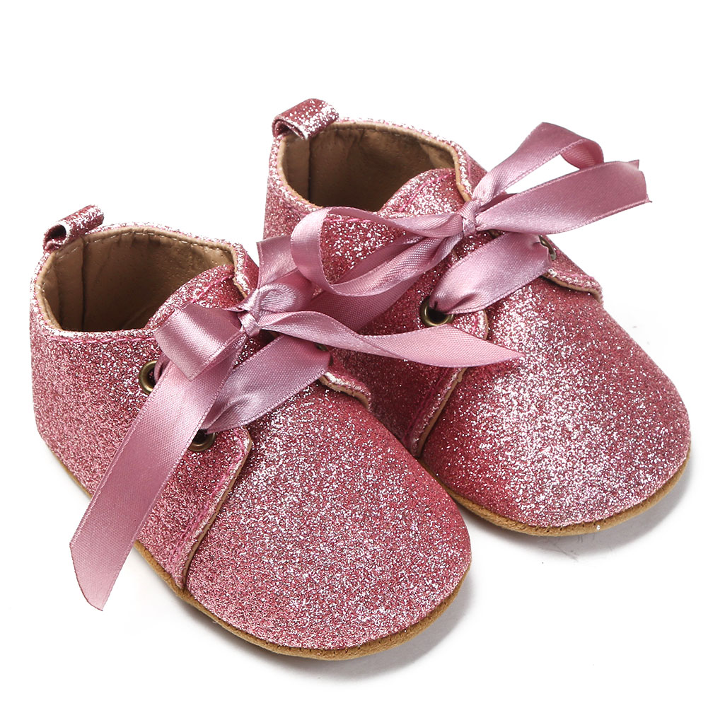 Baby Shoes Toddler Kids Moccasins Sequin Soft Sole Crib Shoes Infant Cotton No-Slip First Walkers Baby Girls Shoes ...