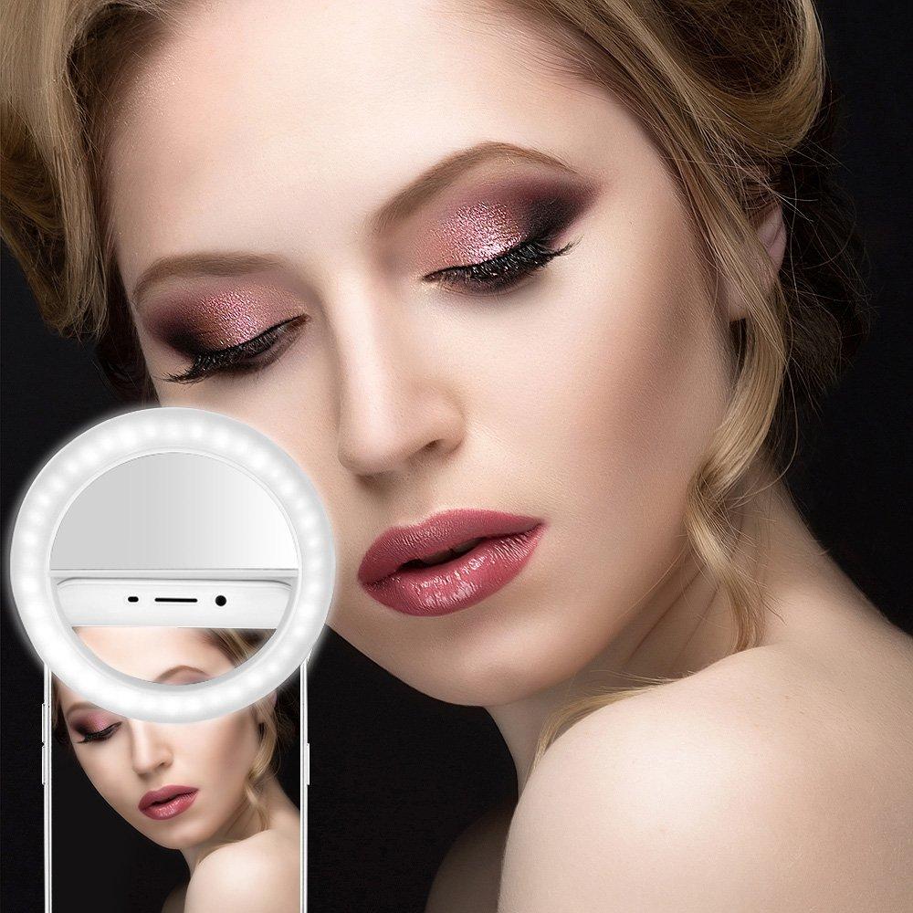 Nieuwe Selfie Ringlicht Portable Flash Led Camera Telefoon Fotografie - Camera en foto
