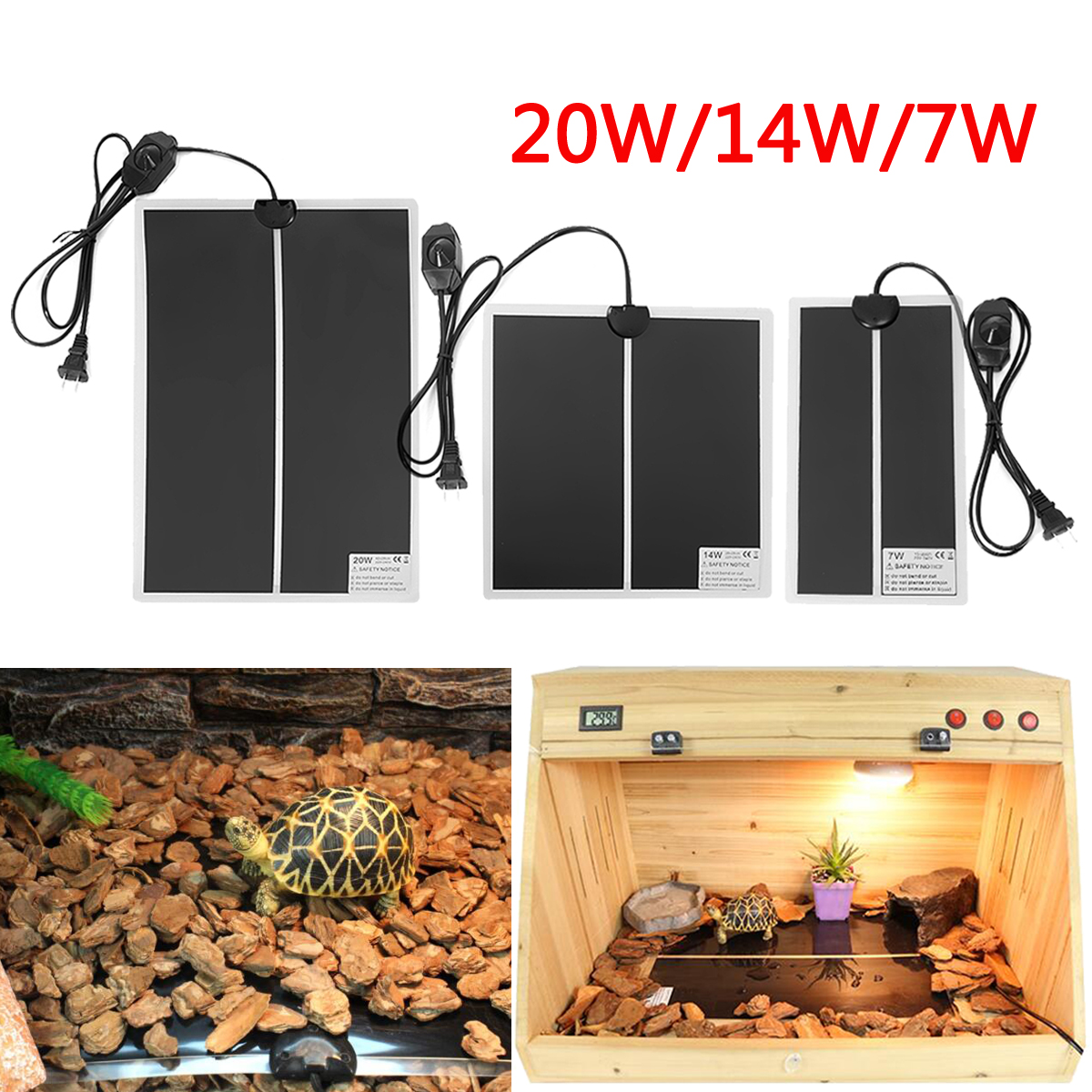 220V 7W / 14W / 20W Reptile Vivarium Heat Mats Heating Thermostat Snake Lizard Wearable Electronic Heating Mats Pet Heating Pad220V 7W / 14W / 20W Reptile Vivarium Heat Mats Heating Thermostat Snake Lizard Wearable Electronic Heating Mats Pet Heating Pad