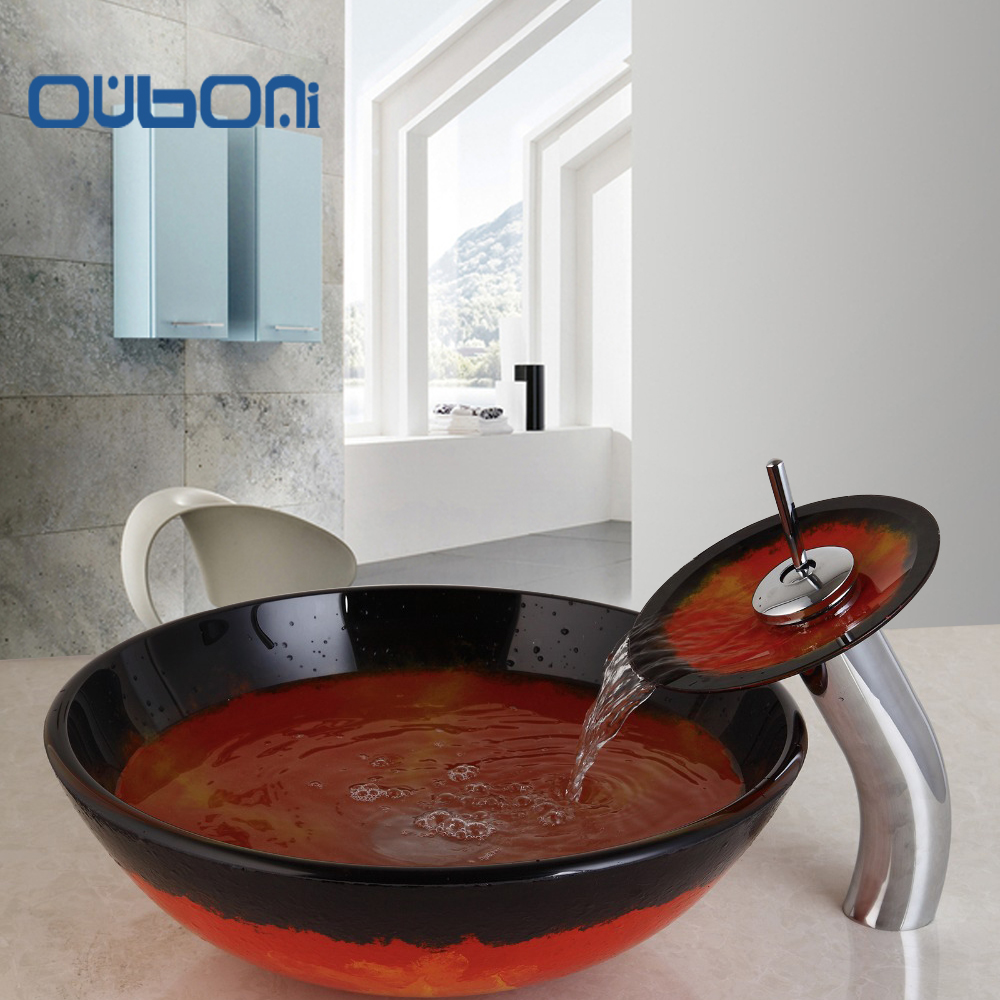 Glass Sink Bathroom Bathroom Glass Bowl Sink Promotion Shop For Promotional Bathroom