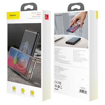 QI Wireless Charger Power Bank 5