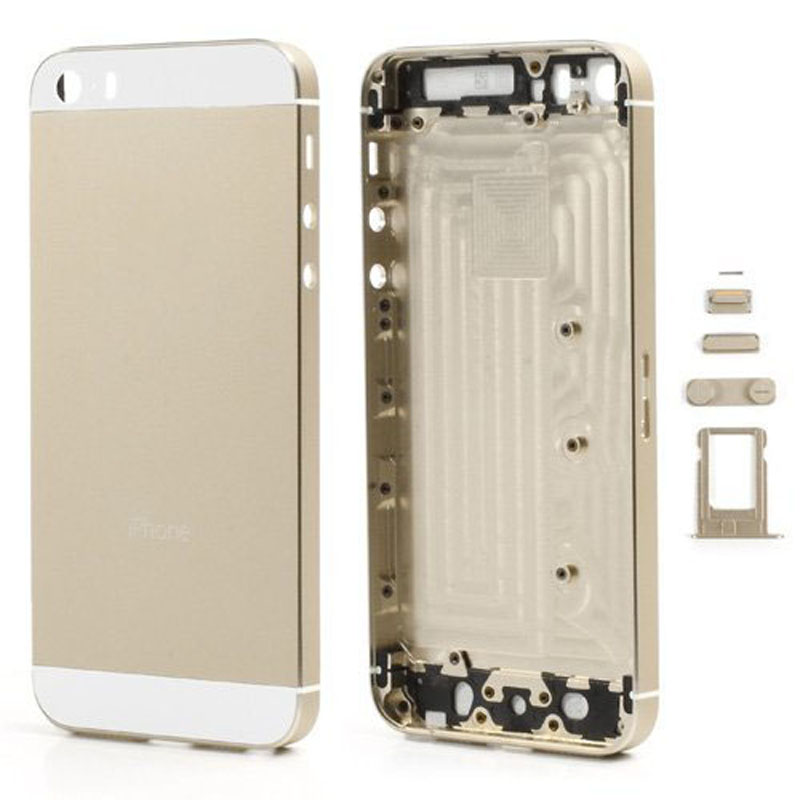 For Apple iPhone 5 5s Replacement Chassis Back font b Housing b font Back Cover Case