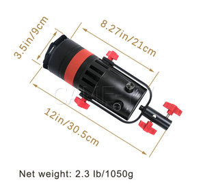Image 5 - 1 Pc CAME TV Q 55W Boltzen 55w MARK II  High Output Fresnel Focusable LED Daylight With Bag Led video light