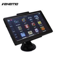 7 Inch Car GPS Navigation 8GB Auto Trucknav With European Map Black Touch Screen