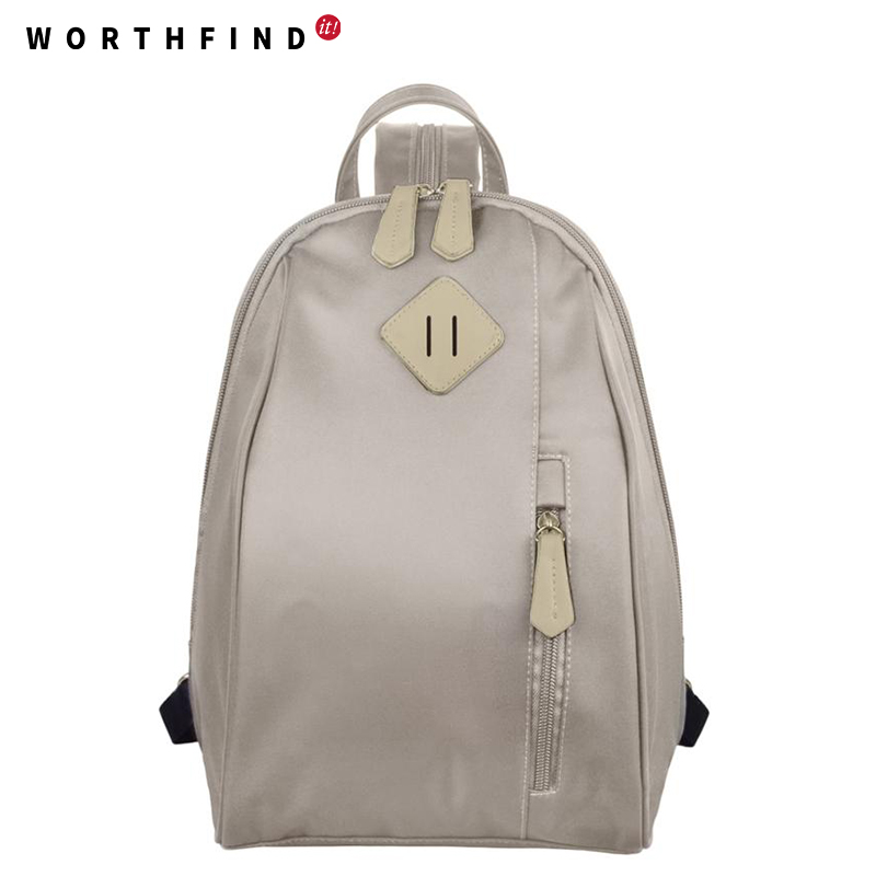 WORTHFIND 2016 New Women Backpack 4 Color Printing Backpack Cute Backpacks For Teenage Girls Fashion Little Girl School Bags  veevanv new fashion women s backpacks audrey hepburn printing backpacks for teenage boy girls casual bags for fans best gifts