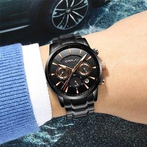 Image 5 - CRRJU marque de luxe mode montre décontractée hommes affaires montres à Quartz hommes chronographe 24 heures Date mâle horloge Relogio Masculino