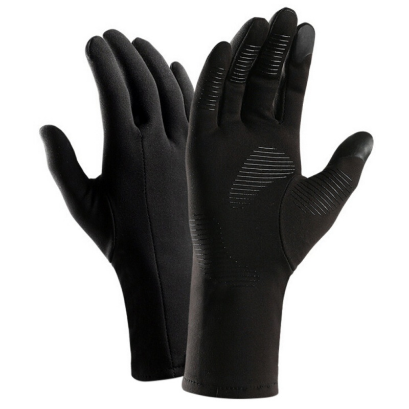 Thermal Touch Screen Women and Men Warm Winter Bike Gloves  Full Finger Cycling Gloves Windproof Long Gloves