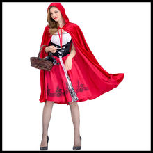 5ec9018e493 Red Maid Dress Promotion-Shop for Promotional Red Maid Dress on ...