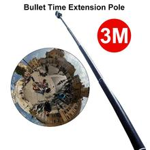 3M Aluminum Extension Pole For Insta360 one X Selfie Stick for DJI OSMO Action/Pocket/Gopro Hero 7 6 5 Sjcam Camera Accessories