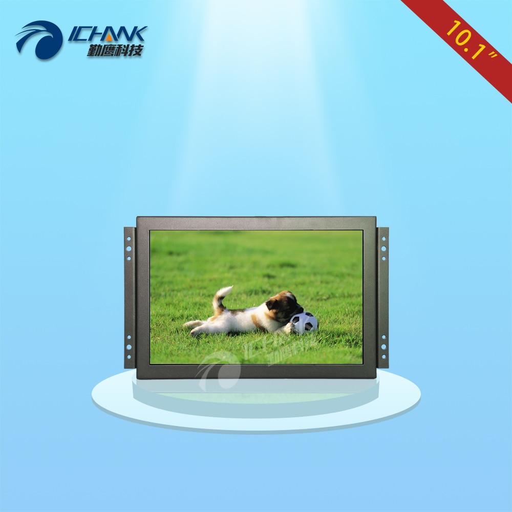K101TN-ABHUV/10.1 inch Open frame monitor/10.1 inch Wall frame monitor/10.1 inch metal case 1280x800 HDMI HD industrial monitor zk150tn dv 15 inch 1024x768 4 3 hd metal case open frame