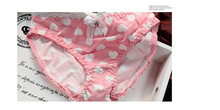 White & Pink Hearts Lingerie Set