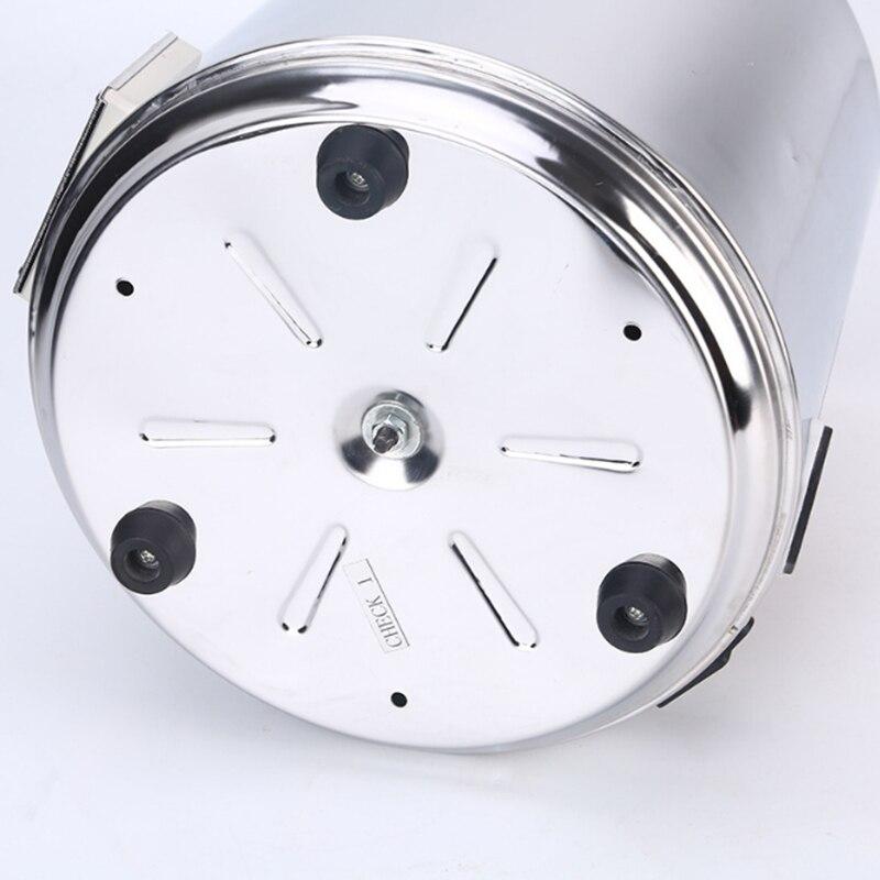 Бытовой дистиллятор чистой воды 4L машина дистиллированная вода Дистилляция Очиститель фильтр из нержавеющей стали стеклянная банка уголь... - 6