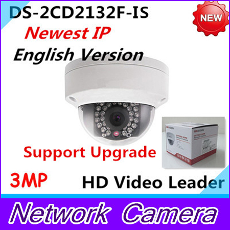 New Arrival english version 3Mp Audio I/O interface,Alarm I/O interface Mini Dome Camera CCTV camera DS-2CD2132F-IS american more level 3 workbook with audio cd