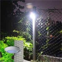 Lámpara de calle impermeable con Sensor de detección de microondas, luz LED Solar de 16LEDs, 260LM, para exteriores, foco de seguridad para pared
