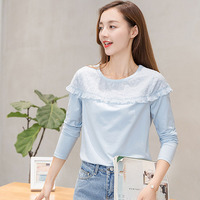 Cotton Shirt Women Blouses Long Sleeve Shirts Chemise Femme Plus Size Women Blouse Casual Ladies Tops