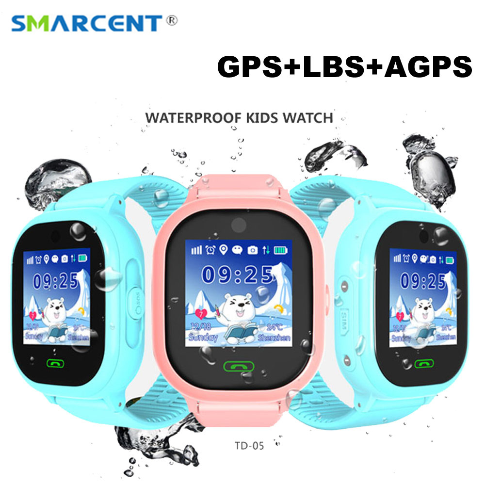 DS05 Kids Smart Watch GPS Baby Smartwatch SOS Call Location Device Tracker Kids Safe Anti-Lost Monitor pk Q50 Q90 Q100 df25 df27