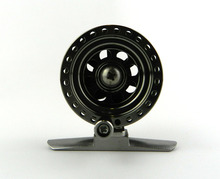 HENGJIA Deep Sea Mini Full Metal Aluminum Fly Fish reel 5cm  fly fishing reel Ultra-light Winter Fishing Tackle Ice reels
