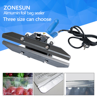 Free Shipping FKR400 Hand Impulse Sealer With Cutter Handheld Heat Impulse Sealer Manual Sealing Machine