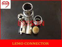LEMO connector PN;FGG.2B.326.CLAD**Z , LEMO 2B connector plug 26pin,LEMO B series multiple needle core connector plugs
