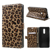 TobeThird For Xiaomi Redmi Note 4X Case Luxury Leopard Card Holder Leather Magnetic Flip Cover Case