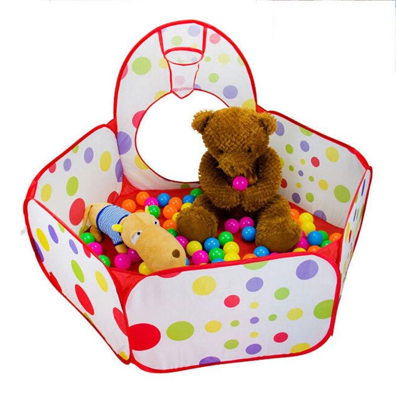Parc bébé piscine à balles pliable Pop Up tente de jeu pour enfants clôture parc clôture Tunnel piscine-Tube-tipi maison de jeu pour enfants
