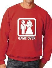 Game Over Funny Wedding/Stag/Hen Do Sweatshirt/Jumper More Size and Color-E239