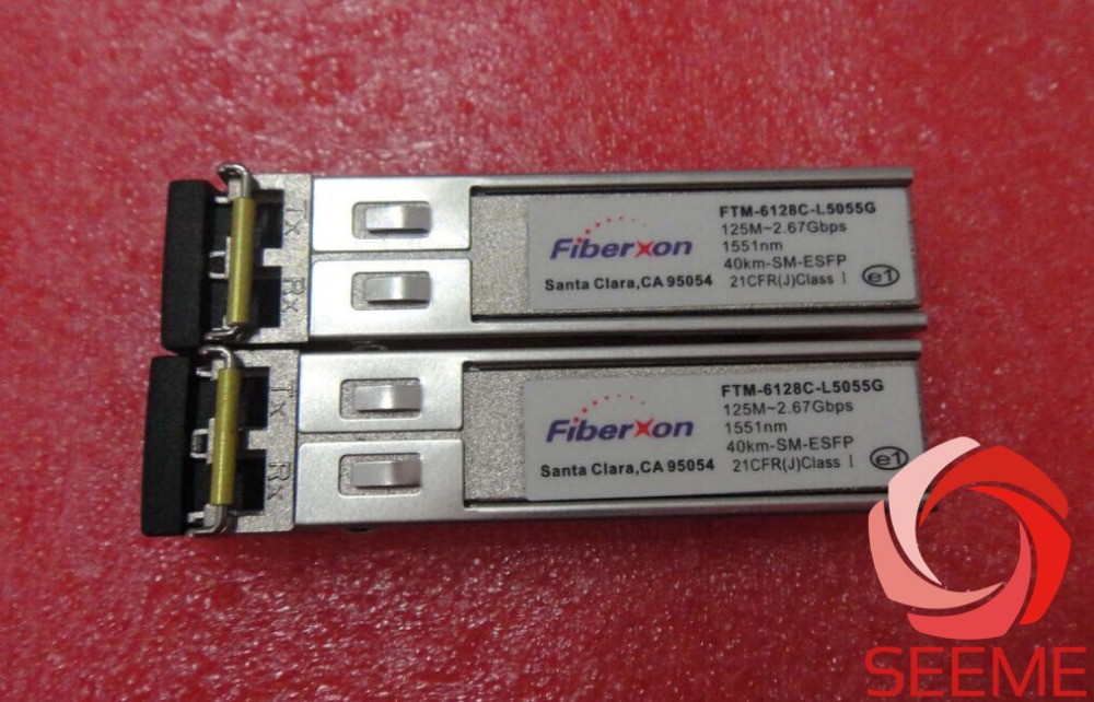 Fiberxon FTM-6128C-L5055G, 125M-2.67G-CWDM-1551NM-40KM-ESFPFiberxon FTM-6128C-L5055G, 125M-2.67G-CWDM-1551NM-40KM-ESFP