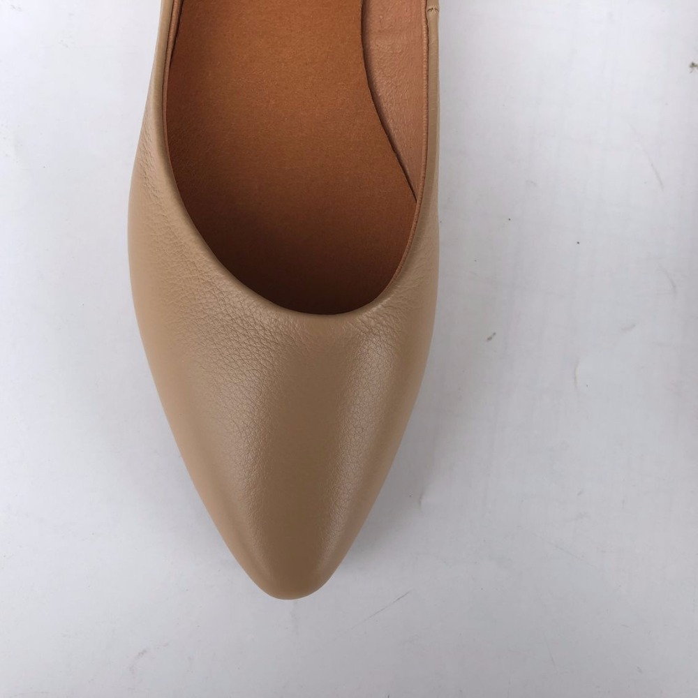 Careaymade-2019 New spring and summer pure handmade Genuine leather female shoes,Shallow mouth flat bottom single shoes,2 colors