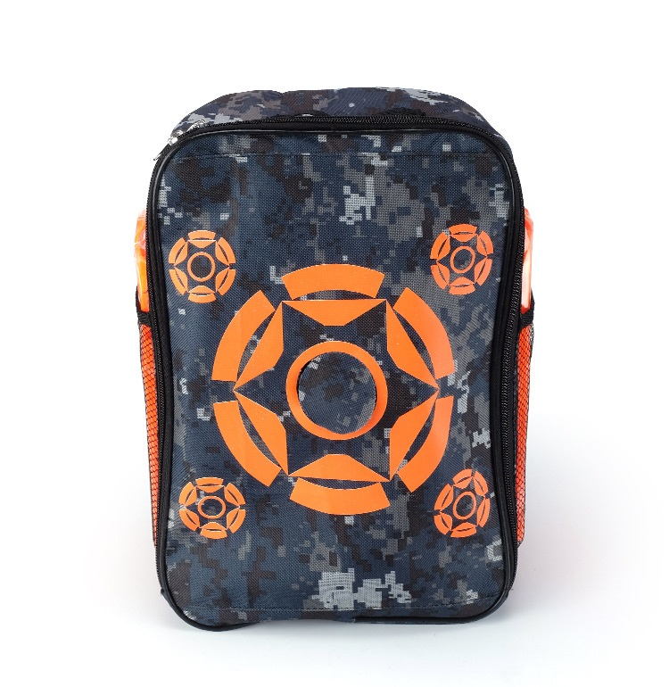 Diligent Target Pouch Storage Carry Equipment Bag Refill Clip Darts Bullets Backpack For Toy Gun