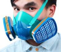 Anti-virus masques peinture en aérosol spécial activé le masque de carbone anti-acétone acétone pesticides boîte