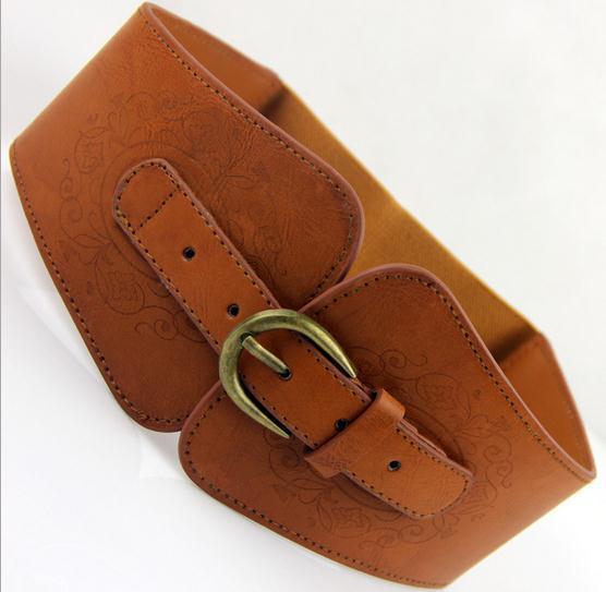 Ladies Wide Fashion Belts