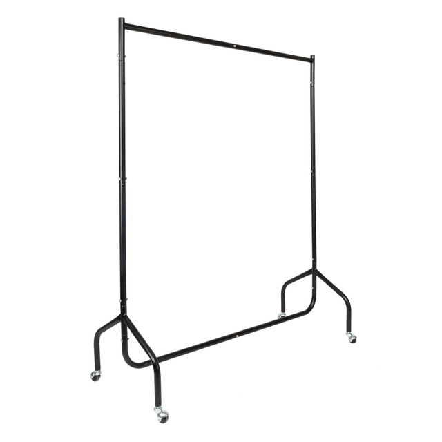 Moveable Clothing Rack Outdoor Clothes Hanger Stand Laundry Drying For Quilt