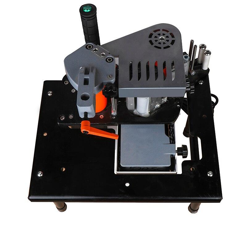 Ручная кромкооблицовочная машина Двусторонняя склейка портативная кромкооблицовочная машина для деревообработки кромкооблицовочная машина 110 В/220 В 1100 Вт