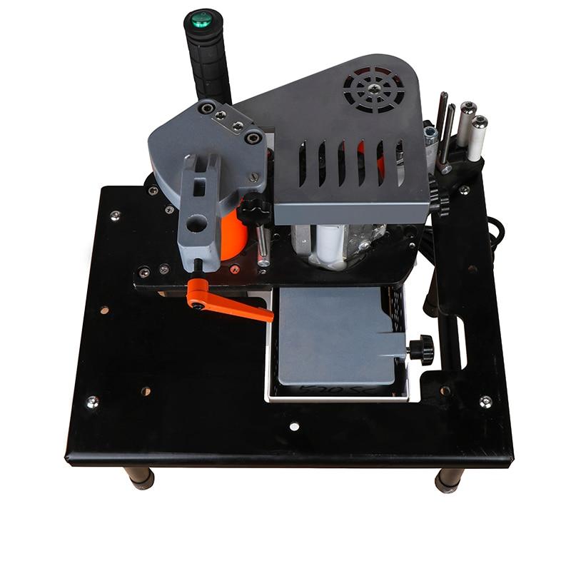 Image 2 - Manual Edge Banding Machine Double Side Gluing Portable Edge Bander Woodworking Edge Banding Machine 110V/220V 1100WWood Based Panels Machinery   -