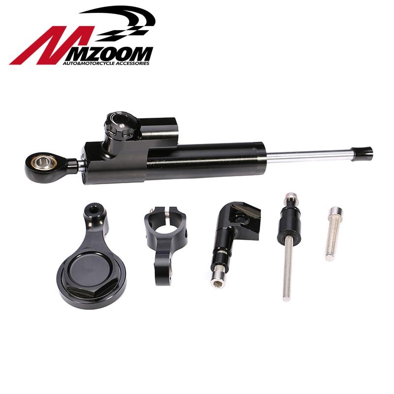 Mzoom Hyperpro Steering Damper Set for YAMAHA YZF R6 06 07 08 09 10 11 12 13 14 w/ bracket kits steering damper set for yamaha yzf r6 06 07 08 09 10 11 12 13 14 w bracket kits